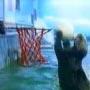 Une loutre qui tape des dunks