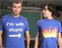 Stop motion T-shirt War : une animation en stop motion avec 2 mecs et 222 t shirts differents