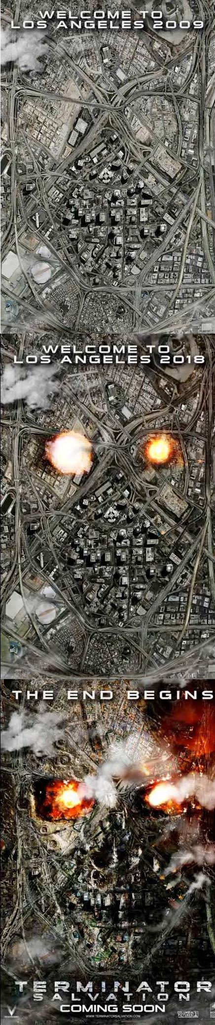 L affiche de Terminator Salvation elle dechire !