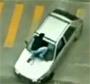 Rodeo sur le capot d une voiture en pleine rue !