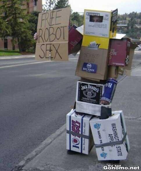 Free robot sex, ca consiste en quoi ???