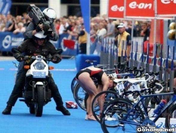 Cameraman sportif, un bon metier !