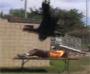 Catch fail : il se casse le dos en ratant une prise de catch aeriennes