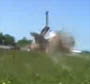 Avion au decollage qui a failli scalper un videaste amateur !