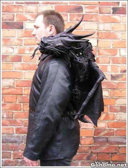 Un manteau gothic :s