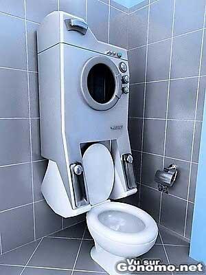 Regarder tourner sa lessive en pissant, c est possible !