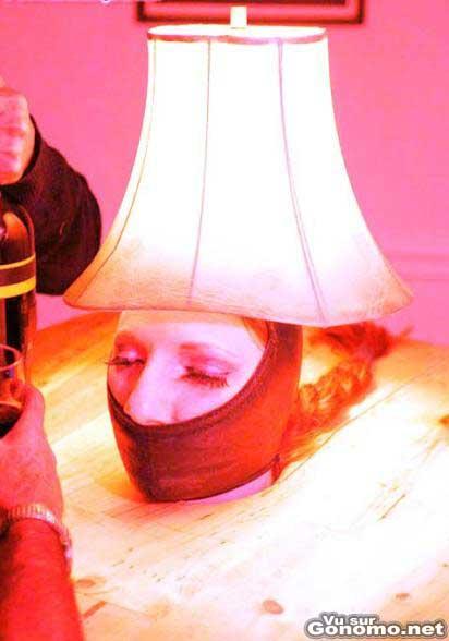 Une lampe SM