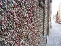 Mur de chewing gum a Seattle : chaque centimetre de ce mur est recouvert de vieux chewing gum :s