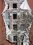 Un joli trompe l oeil sur la facade d un immeuble
