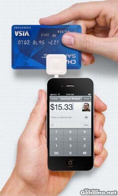 lecteur carte bleue pour iphone l iphone peut vraiment tout faire lecteur carte bleue. Black Bedroom Furniture Sets. Home Design Ideas