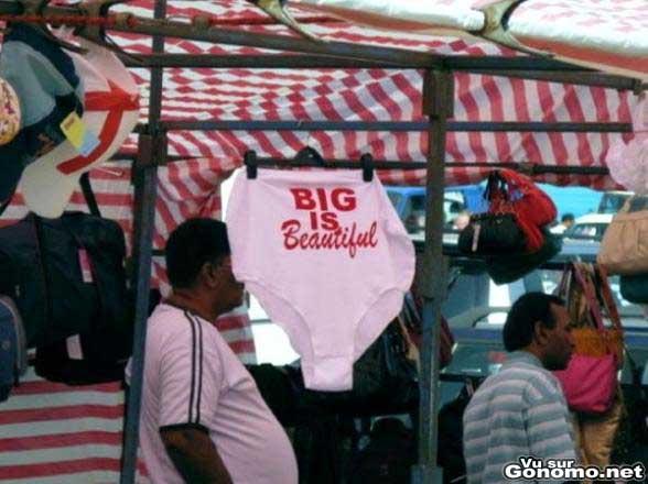 Big is beautiful ... ou pas