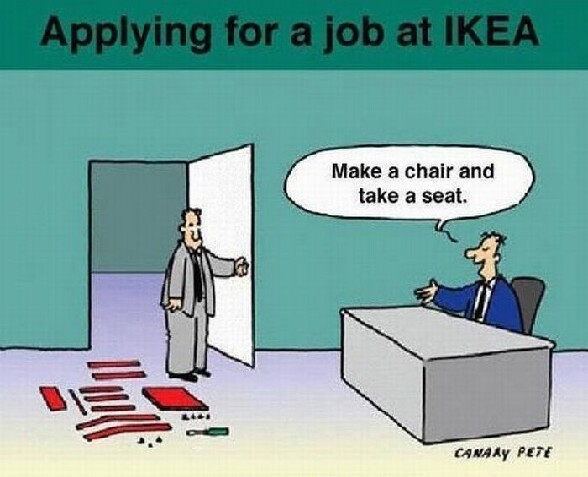 Comment se passe un entretien d embauche chez Ikea ? :)