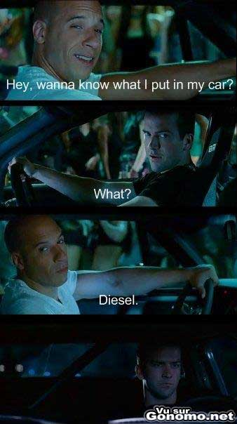 Vin Diesel est un marrant ! :)