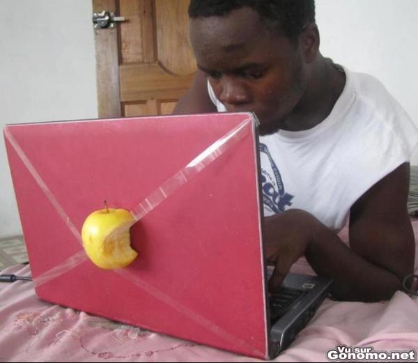 Le nouveau macbook a la portee de toutes les bourses. Suffit juste d avoir un peu d imagination