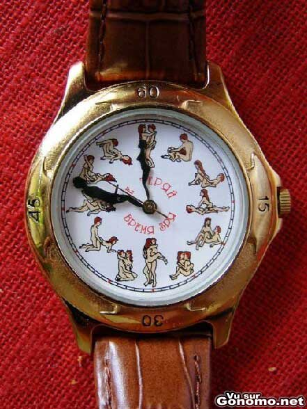 La montre Kamasutra