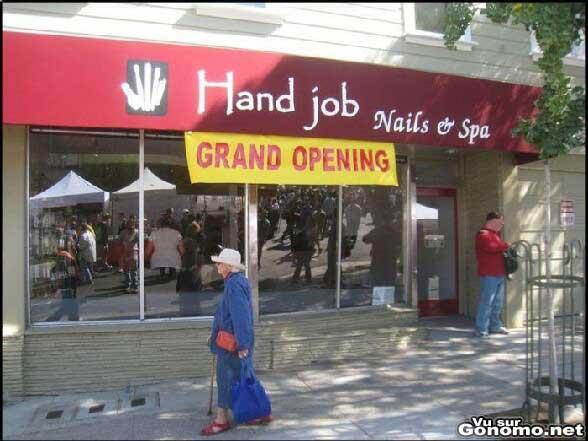 Le nom de ce salon laisse presager de bons massages :p