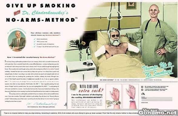 Arreter de fumer grace a la methode du Dr Chodorkowsky s :)