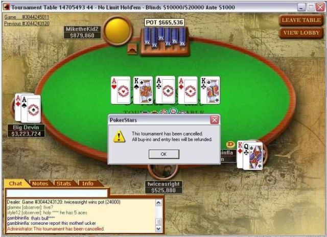 Mega hit poker