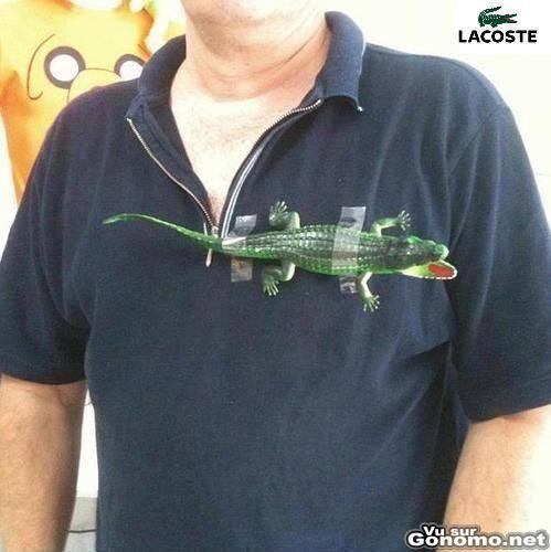 Tee shirt Lacoste pas cher et homemade : toi aussi, tu peux craner avec le polo au crocodile