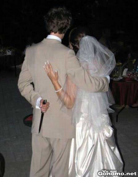 Ca sent pas bon pour l avenir de leur mariage ...