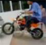 Faceplant ! Mini moto mais maxi chute sur la tete ! :s