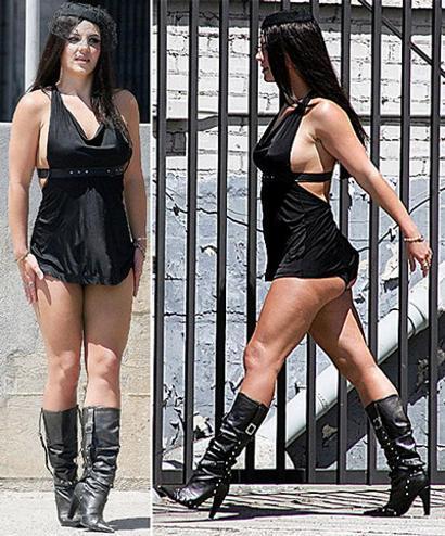Britney Spears se fait encore remarquer par sa tenue