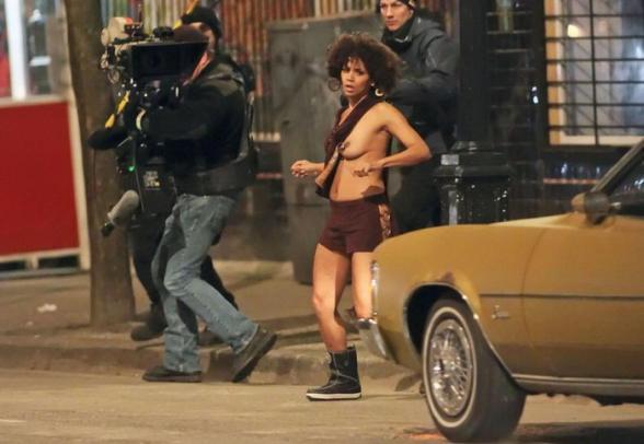 Halle Berry topless dans son nouveau film