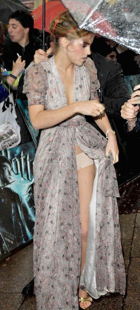 Emma Watson a bien fait de mettre une culotte