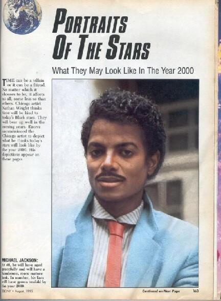 Michael Jackson aurait du ressembler a ca, c est rate !