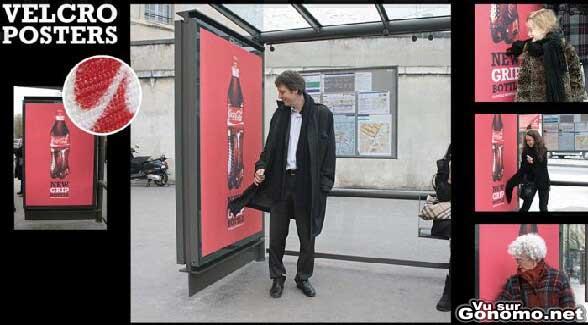 Une affiche Coca Cola qui accroche l attention mais pas que ...