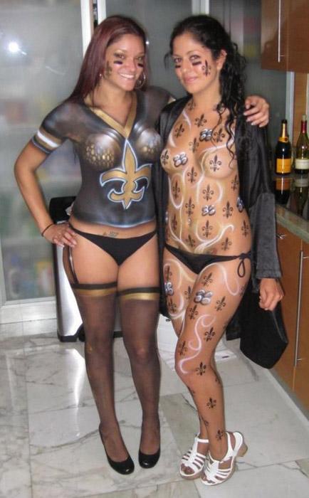 Les seins heuuu..... les Saints de la Nouvelle Orleans remportent le Superbowl ! :p