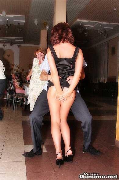 Faut toujours qu il se passe quelque chose d insolite dans les mariages