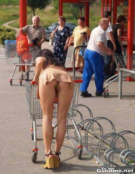 Meme pour faire ses courses il vaut mieux mettre une culotte