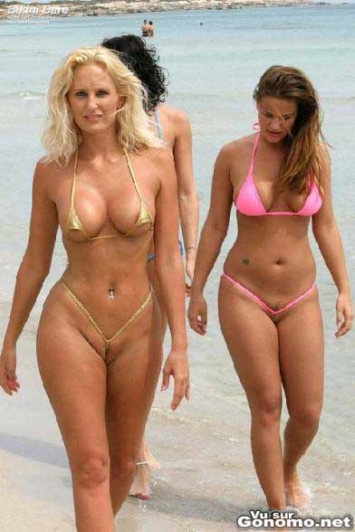 Des bikinis minuscules ! - very small bikini