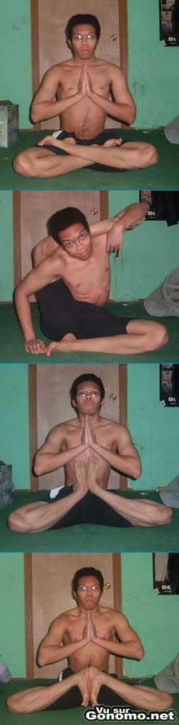Le Yoga c est bon pour la souplesse aussi apparemment