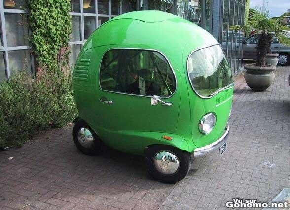 Une voiture bulle !