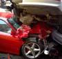Ferrari vs Bmw : la Bm est pas mal mais le proprietaire de la Ferrari doit etre le plus degoute ...